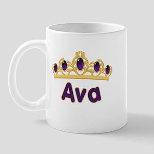 Princess Tiara Ava Personalized Mug