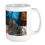 Handspun Yarn Large Mug