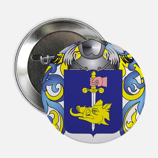 "Fahey Coat of Arms 2.25"" Button"