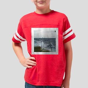 tile 4.25x4.25 miami charter  Youth Football Shirt