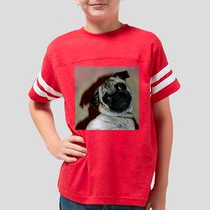 PugMug3 Youth Football Shirt