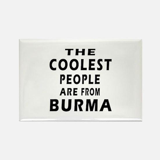 The Coolest Burma Designs Rectangle Magnet
