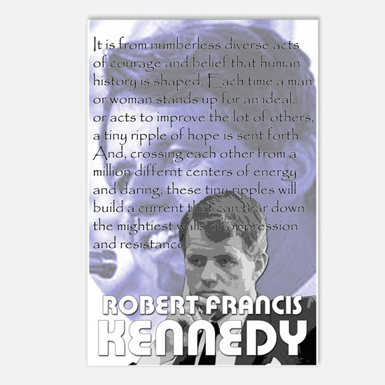 Bobby Kennedy Postcards (Package of 8)