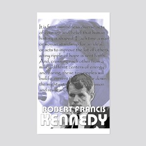 Bobby Kennedy Rectangle Sticker
