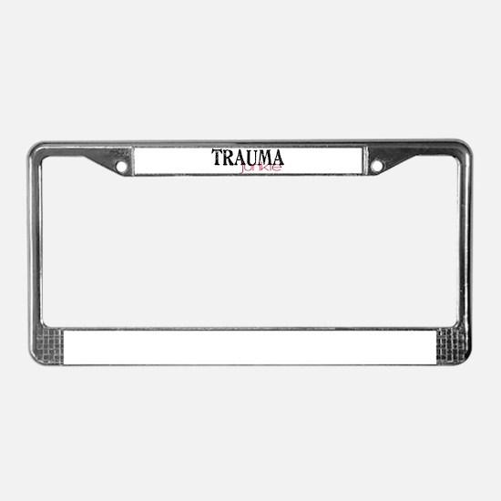 TRAMUAjunkie License Plate Frame