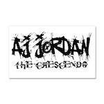 AJ Jordan The Crescendo Logo Car Magnet 20 x 12
