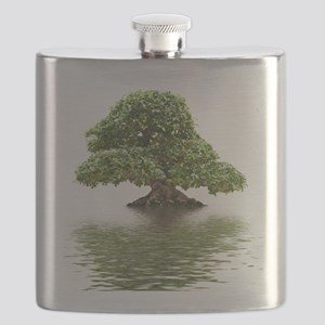 ficus water reflection Flask