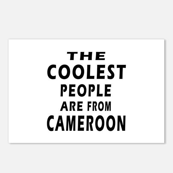 The Coolest Cameroon Designs Postcards (Package of
