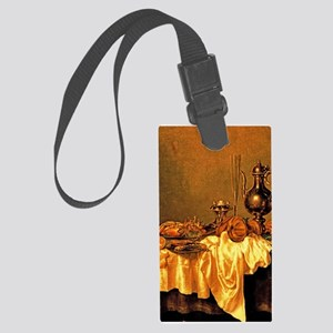 Heda - Breakfast with a Crab Large Luggage Tag