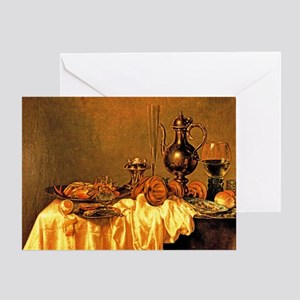 Heda - Breakfast with a Crab Greeting Card