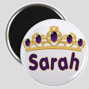 Princess Tiara Sarah Personalized Magnet
