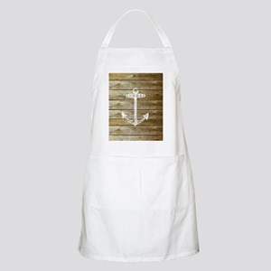 Anchor on Faux wood Apron