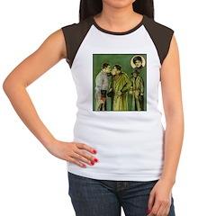 The Big Punch #1 (1921) Women's Cap Sleeve T-Shirt