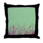 Grass & Mint Throw Pillow