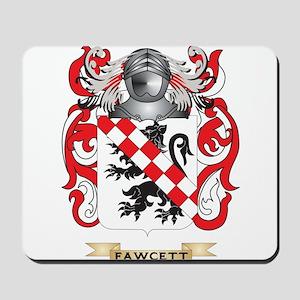 Fawcett Coat of Arms Mousepad