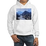 Mysterious Terraced Mountains Hoodie