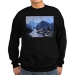 Mysterious Terraced Mountains Sweatshirt