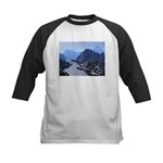 Mysterious Terraced Mountains Baseball Jersey