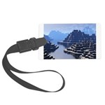 Mysterious Terraced Mountains Luggage Tag