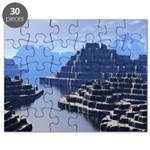 Mysterious Terraced Mountains Puzzle
