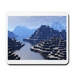 Mysterious Terraced Mountains Mousepad