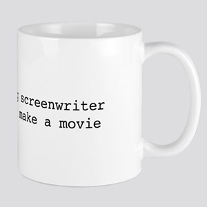I'm an aspiring screenwriter. But... Mug