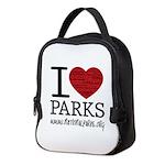 I Heart Parks Neoprene Lunch Bag