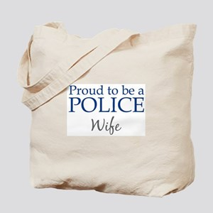 Police: Wife Tote Bag