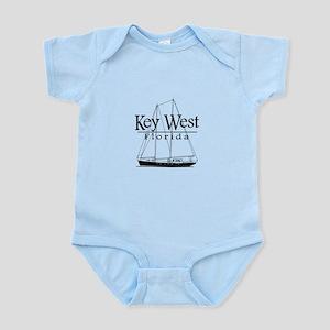 Key West Sailing Black Body Suit