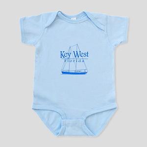 Key West Sailing Blue Body Suit