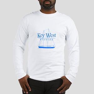 Key West Sailing Blue Long Sleeve T-Shirt