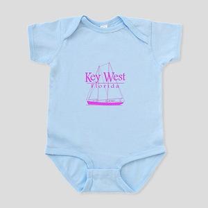 Key West Sailing Pink Body Suit
