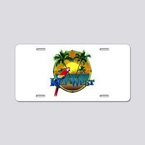 Key West Sunset Aluminum License Plate
