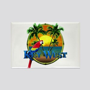 Key West Sunset Rectangle Magnet