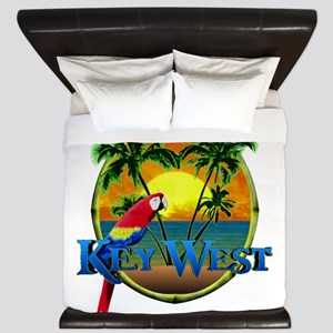 Key West Sunset King Duvet