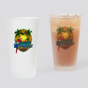 Key West Sunset Drinking Glass