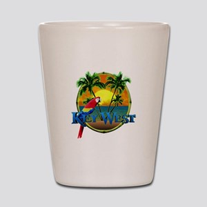 Key West Sunset Shot Glass