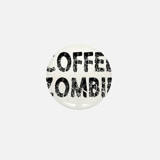 COFFEE ZOMBIE Mini Button