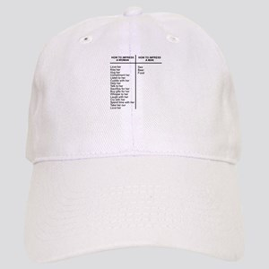 Impress Man Impress Woman Cap