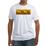 Aztec Design 1 Fitted T-Shirt