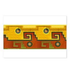 Aztec Design 1 Postcards (Package of 8)