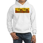 Aztec Design 1 Hooded Sweatshirt