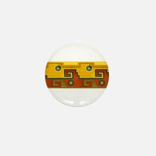 Aztec Design 1 Mini Button