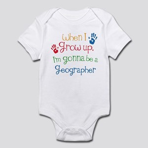 Future Geographer Infant Bodysuit