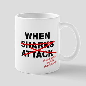 When stupid people invade Mug