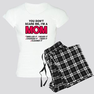 Don't scare me I'm a mom Women's Light Pajamas
