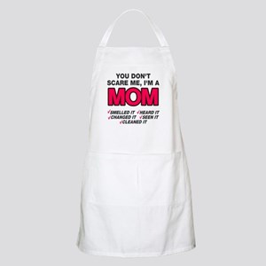 Don't scare me I'm a mom Apron
