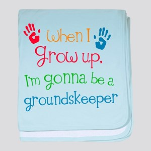 Future Groundskeeper baby blanket