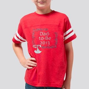 Dad-to-Be-2013-Black-Shirt-Sw Youth Football Shirt