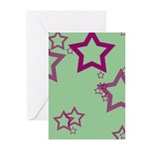 Blank Mint Green Greeting Cards (Pk of 10)
